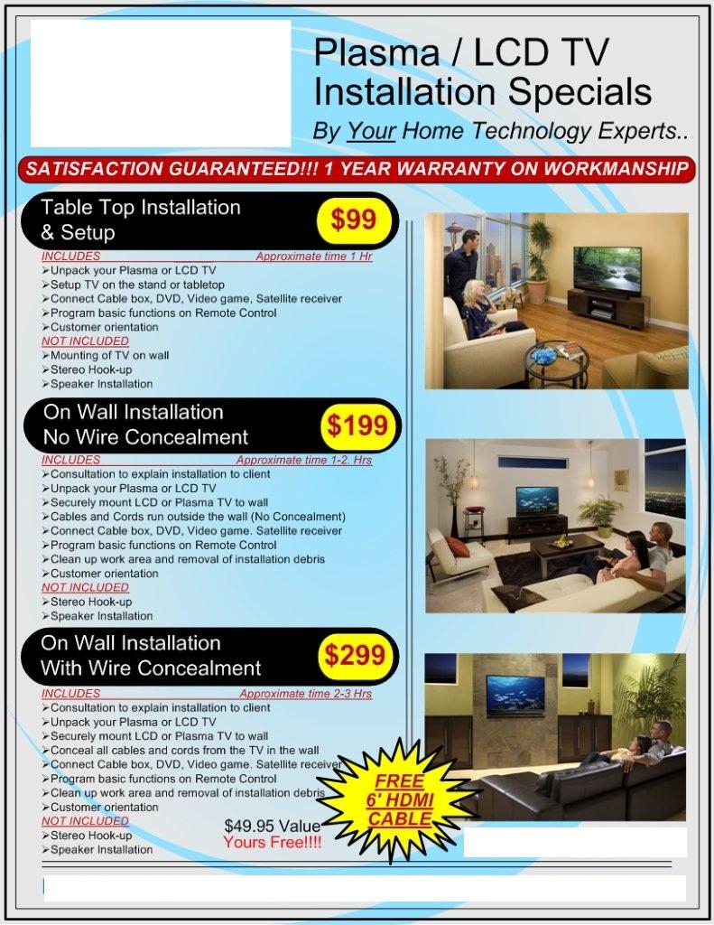 Installation Specials | Elite Home Systems